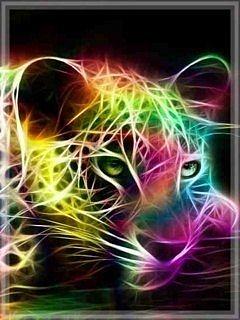 Download Neon Jaguar Mobile Wallpapers for your cell phone #2: eon Jaguar